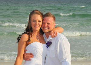 Our Wedding Took Place At Grayton Beach Florida We Ed A Great Little House That Was About Block From The Were Able To Do